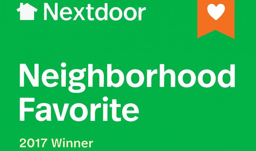 Next Door Neighborhood Favorite 2017 Winner
